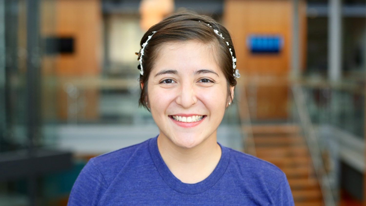 Estefania Castro-Vazquez is an NC State CALS student with a bright future.