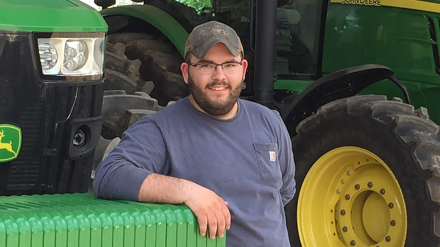 Tyler Englebright, NC State CALS student