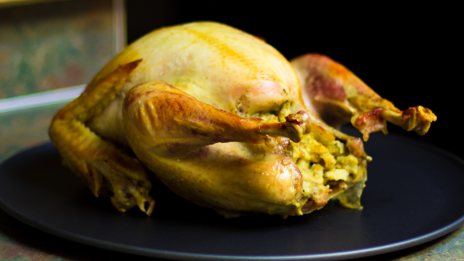 Image of turkey with stuffing