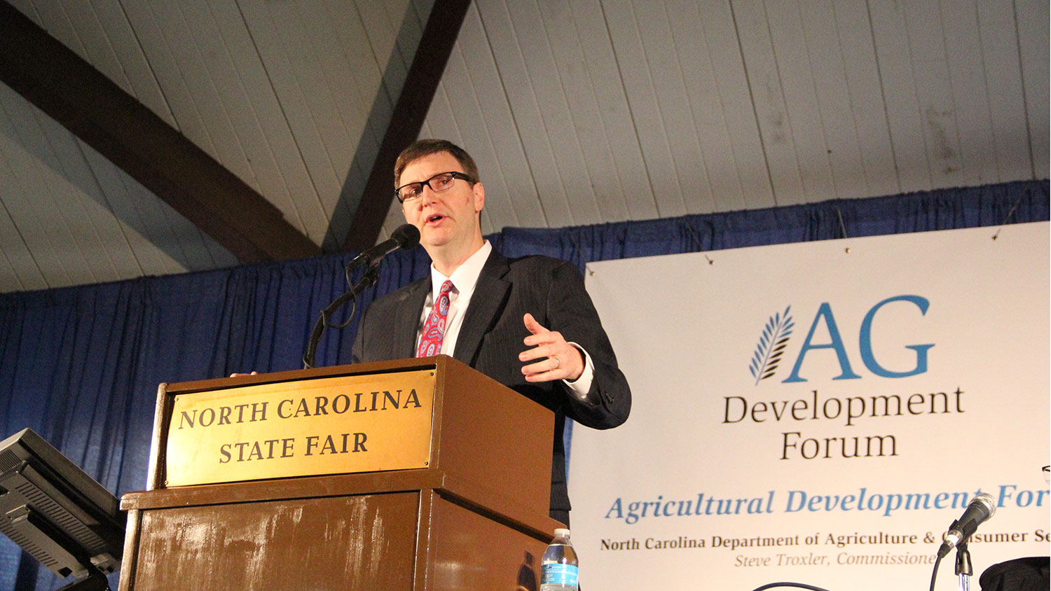 Ray Starling speaking at Ag Development Forum