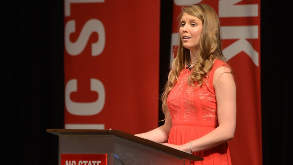 STEAM student Katelyn Thomas