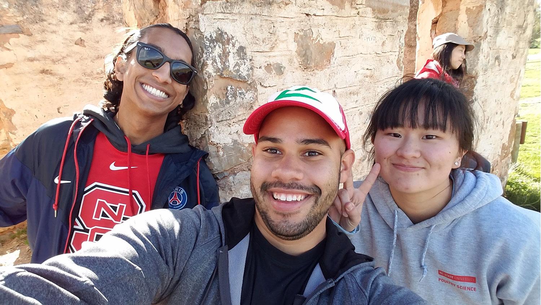 MSP students on Australia trip