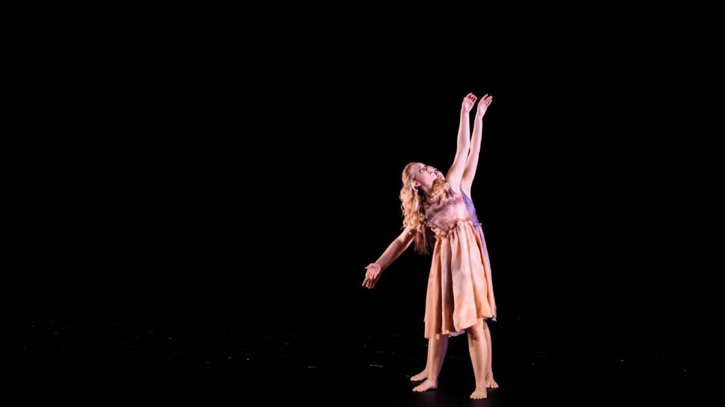 CALS student Gini Brown dances with NCSU Dance Company this Thursday