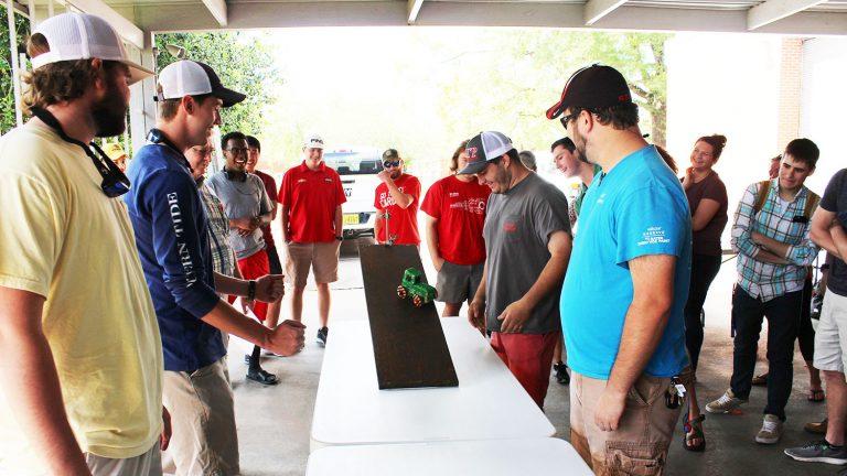 BAE students race edible cars