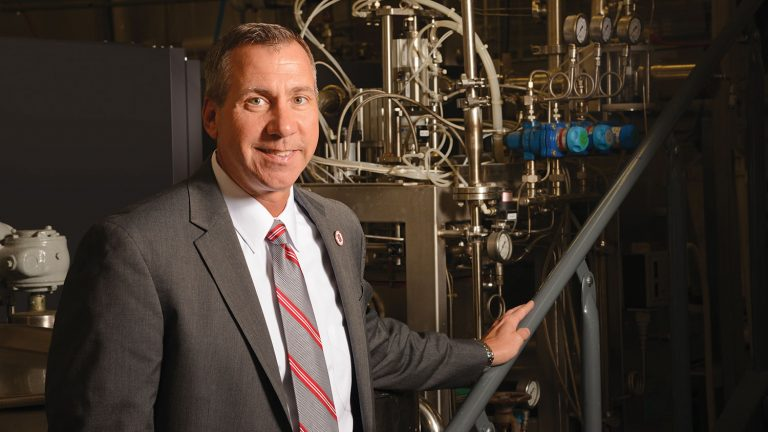 Chris Daubert, head of the NC State Department of Food, Bioprocessing and Nutrition Sciences