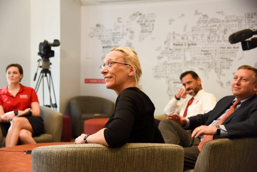 BASF representative Karin Herbers at CALS roundtable