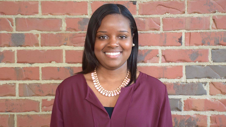 CALS alumna Bria Sledge