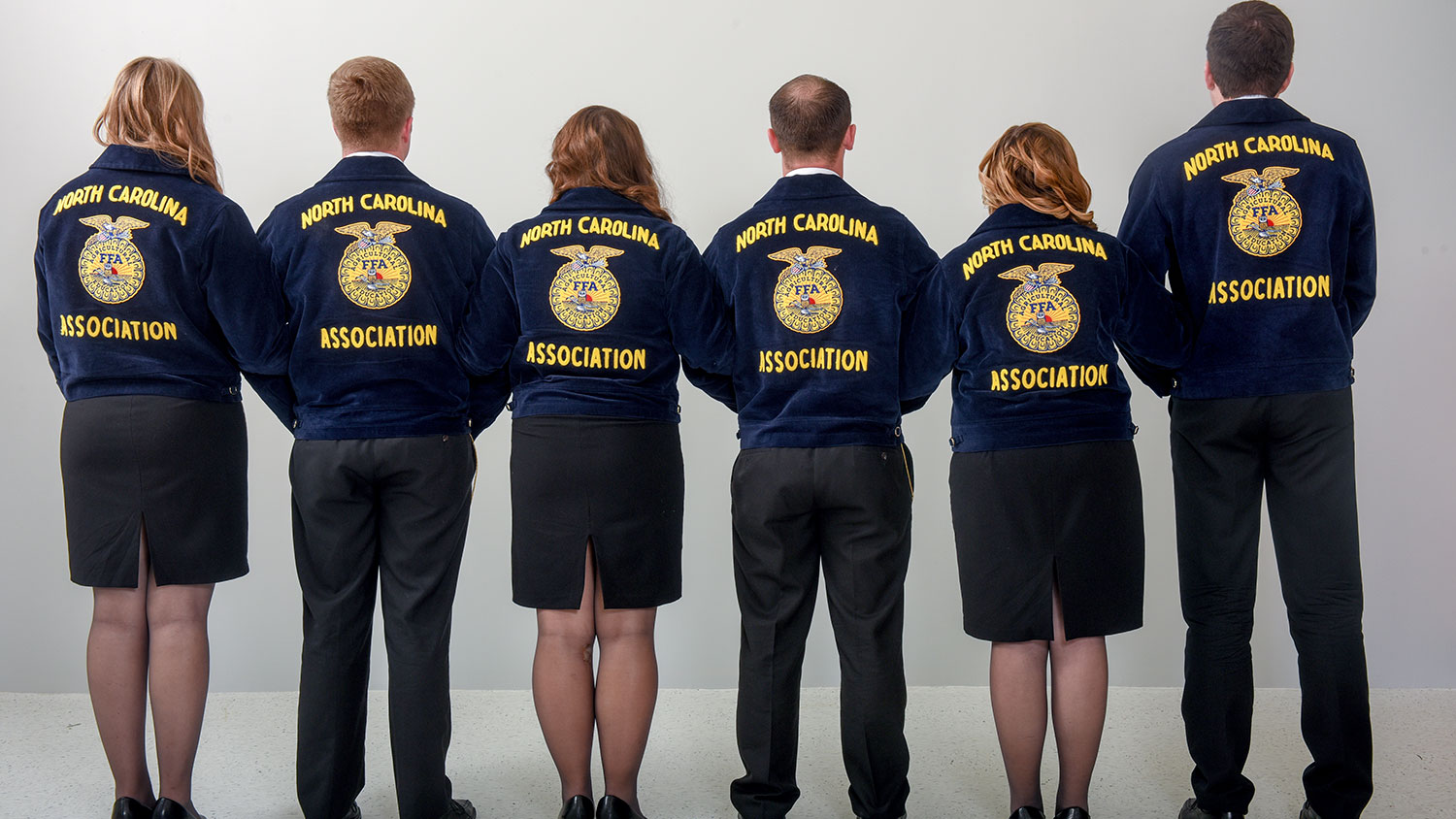 Portrait of state FFA officers