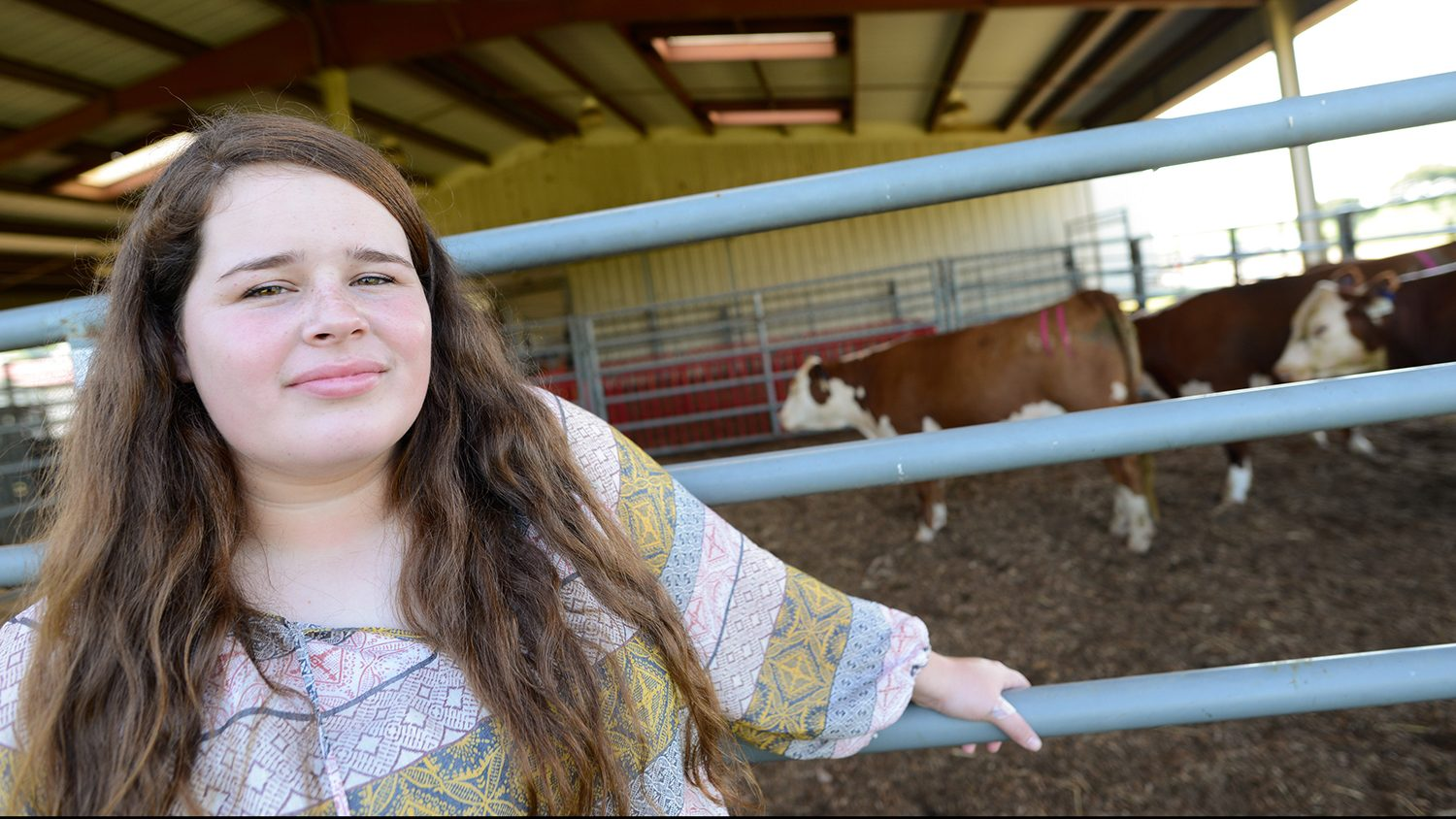 MaryBeth Tyndall, 4H and Poultry Science freshman