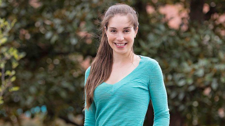 NC State grad student Sophia Webster