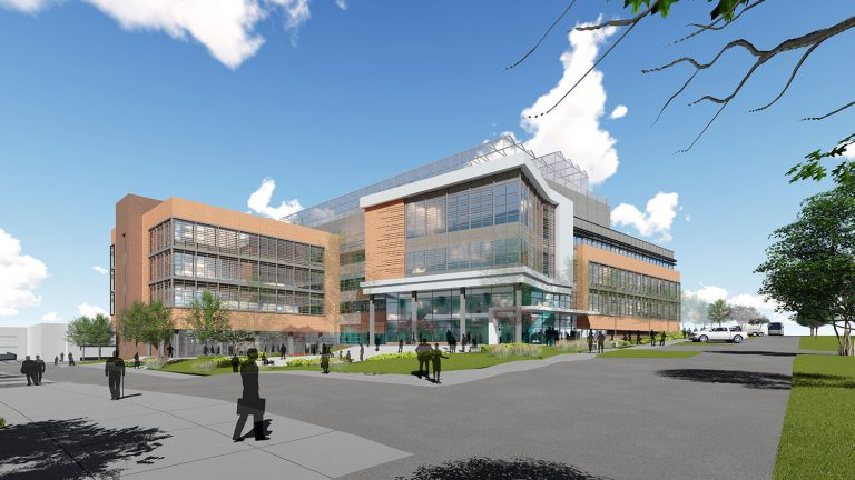 Rendering of NC Plant Sciences Facility