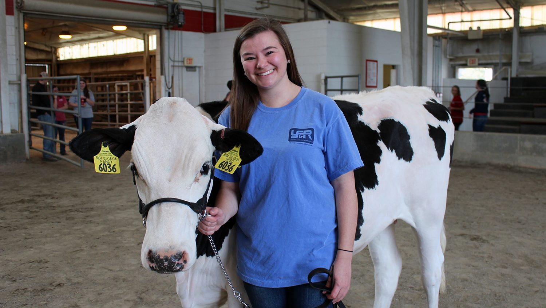 NCSU CALS Animal Science alum Taylor Knittel