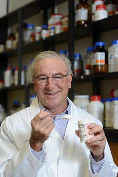 Dr. Todd Klaenhammer in his lab