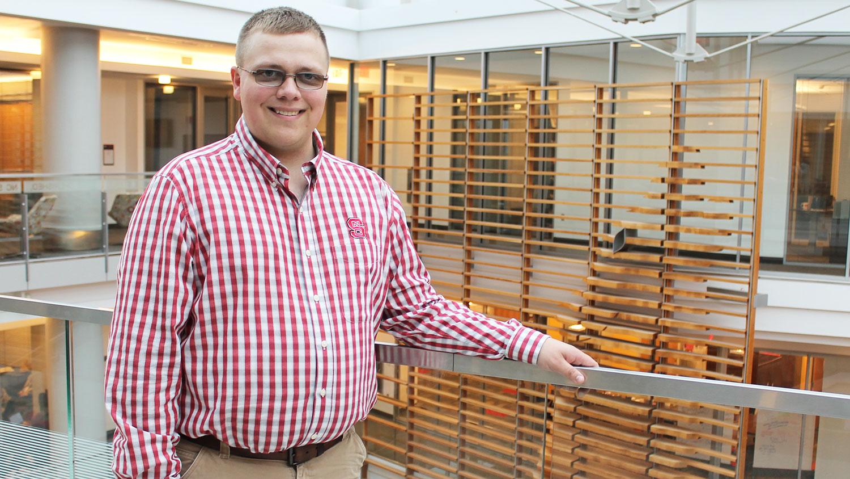 NC State student Jacob Nester