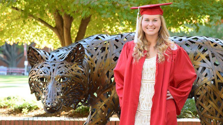 NC State student Olivia Chadwick