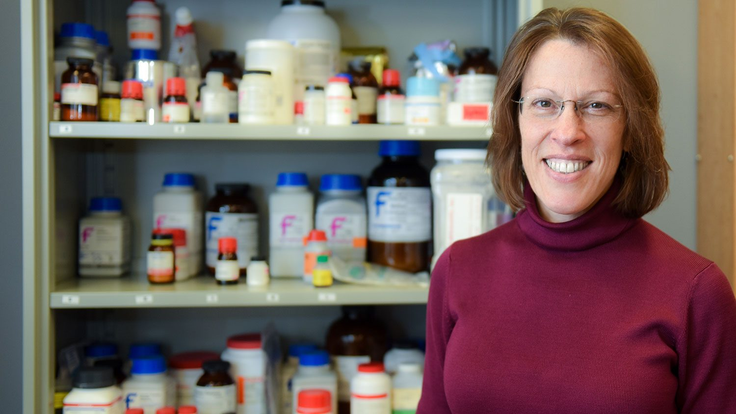 NC State Biochemistry Department Head Melanie Simpson