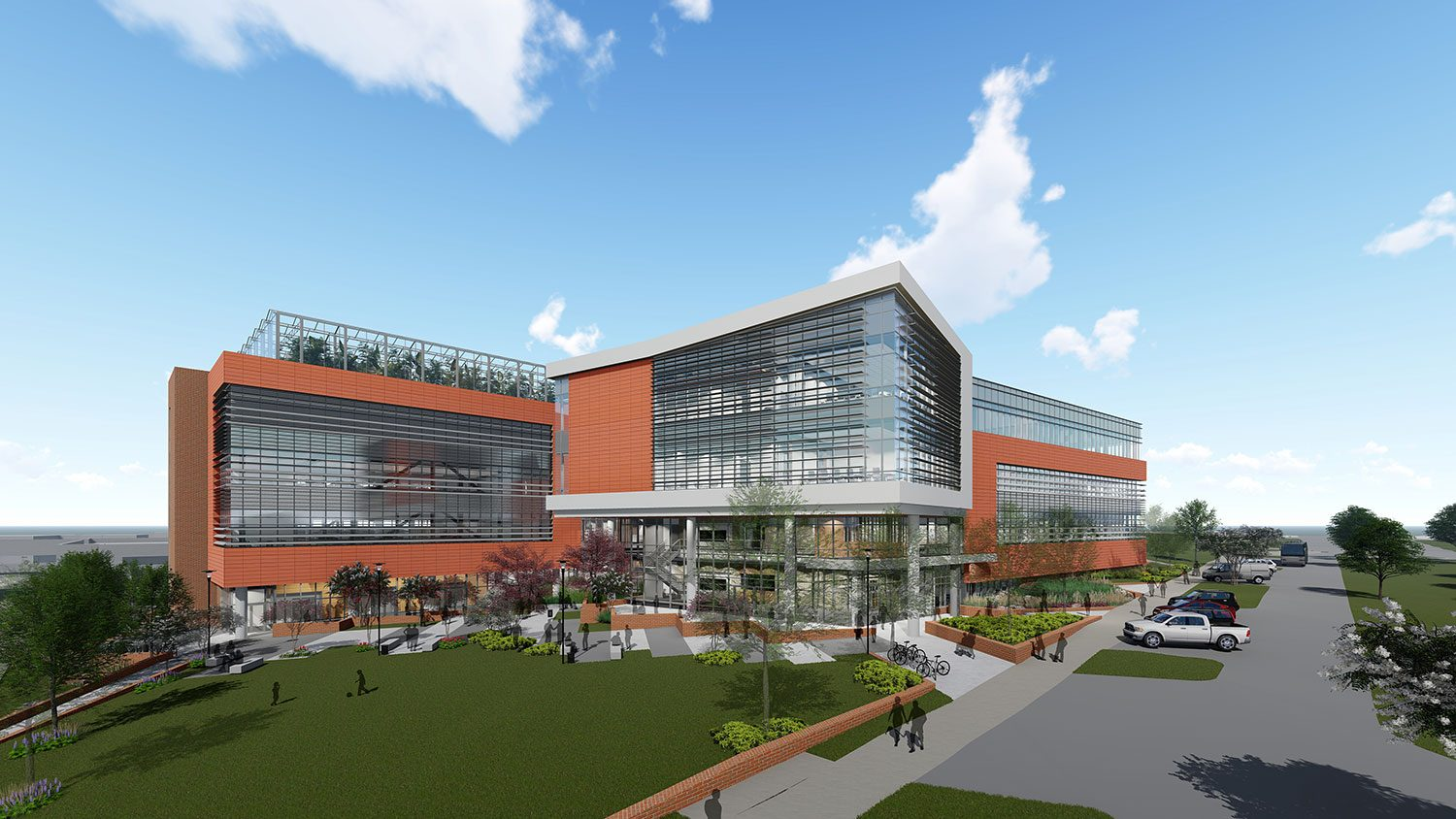 NC State Plant Sciences Initiative building rendering