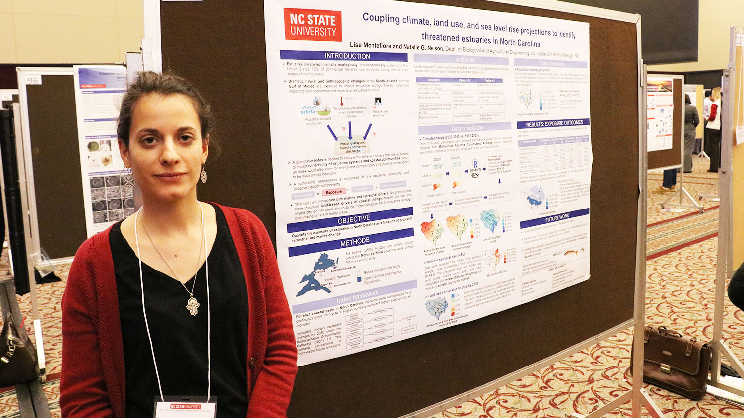 NC State Ph.D. student Lisa Montefiore