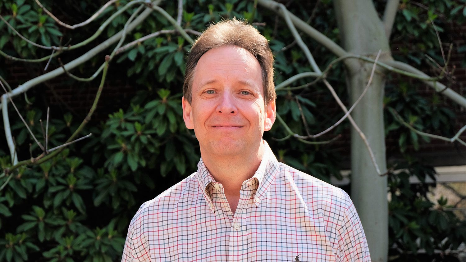 Head and shoulders photo of Barry Goodwin outside.