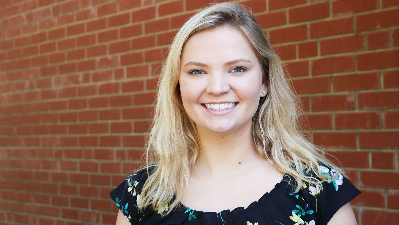 BAE student Carrie Sanford