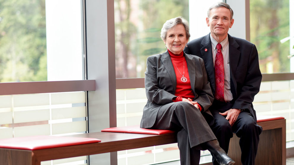 Suester and Robert Sowell established a fund to help graduate students travel to professional conferences.