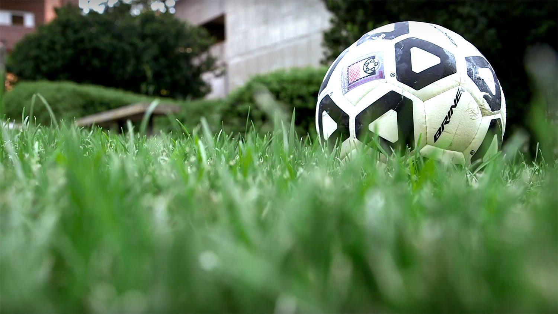 soccer ball on turfgrass