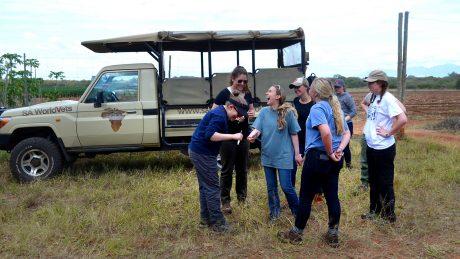 Shweta Trivedi CALS Rhino Study Abroad Vet School