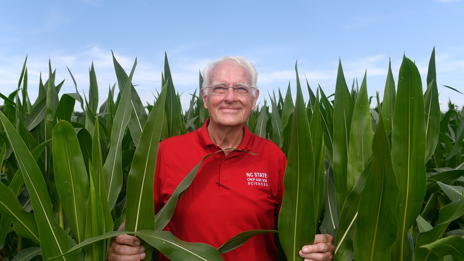 NC State CALS Professor Bob Patterson 50 years