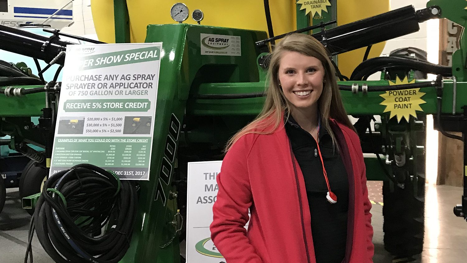 CALS grad Katelyn Thomas Bayer CropScience