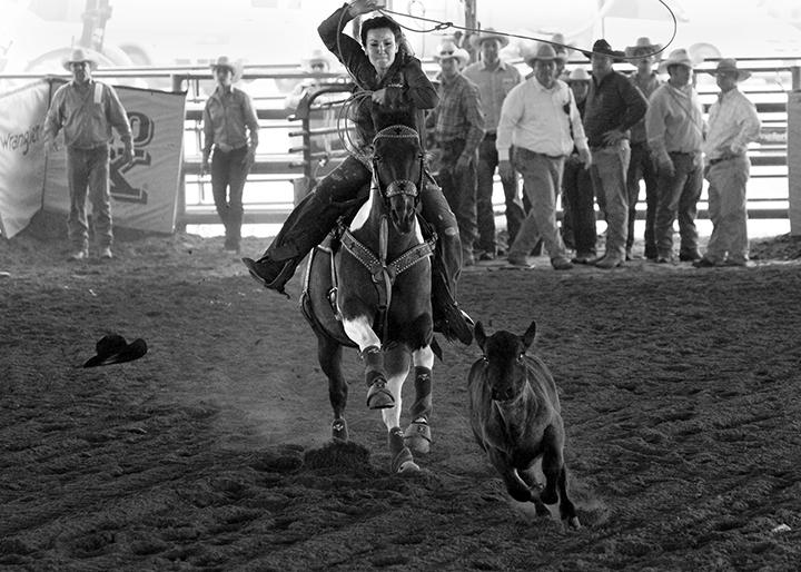 CALS grad Kelly Blanton rodeo