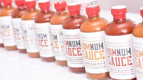 CALS grad Michael Lloyd Num Num Sauce