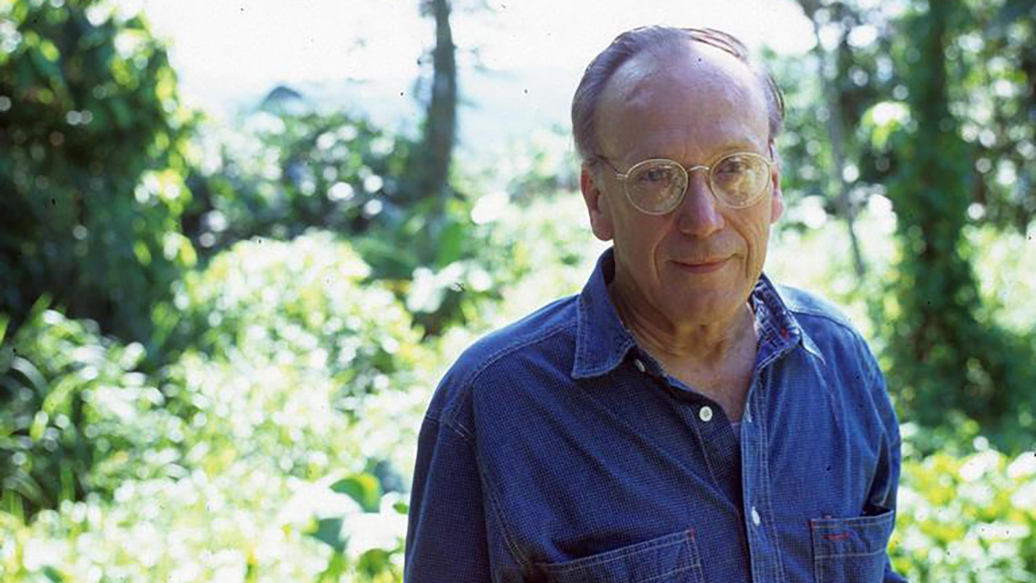 Charles W. Averre outdoors