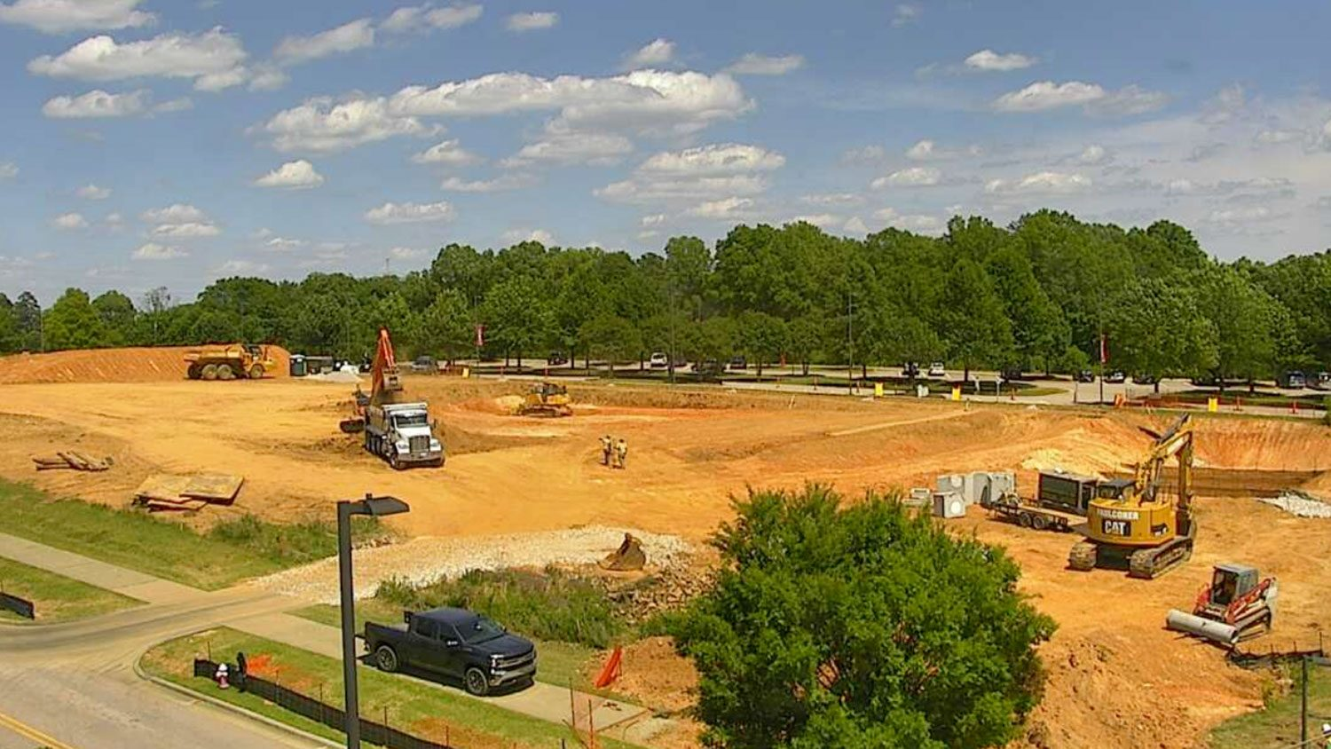 Plant Sciences under construction site May 16, 2019