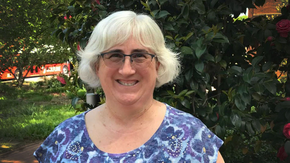 Horticulture's Helen Kraus on NC State's campus