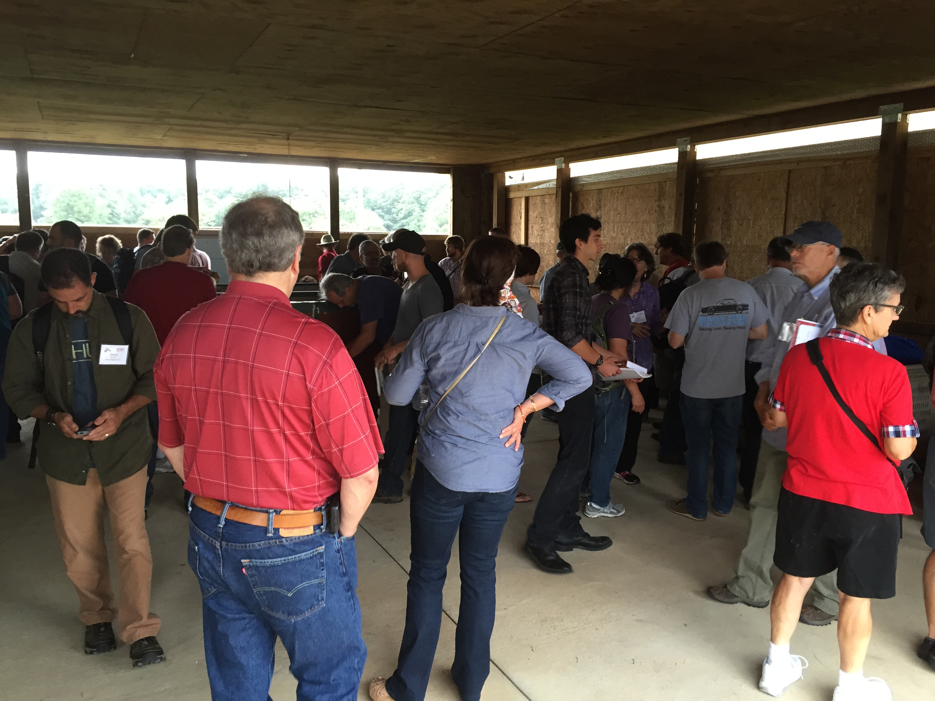 The Vermiculture Conference features a field trip to NC State's Compost Learning Lab.
