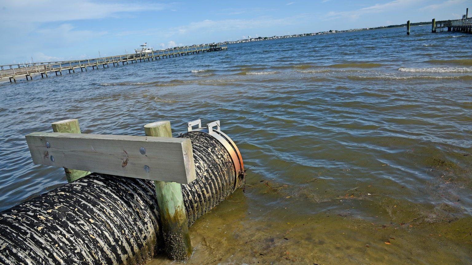 Stormwater drain run-off pipe