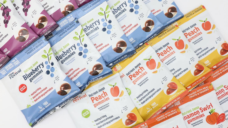 gummies in their packaging