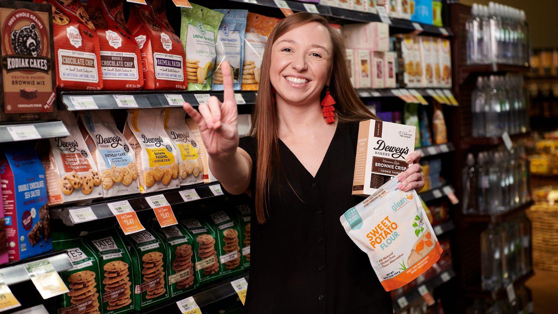 Picture of Jennifer Badger inside a Fresh Market store