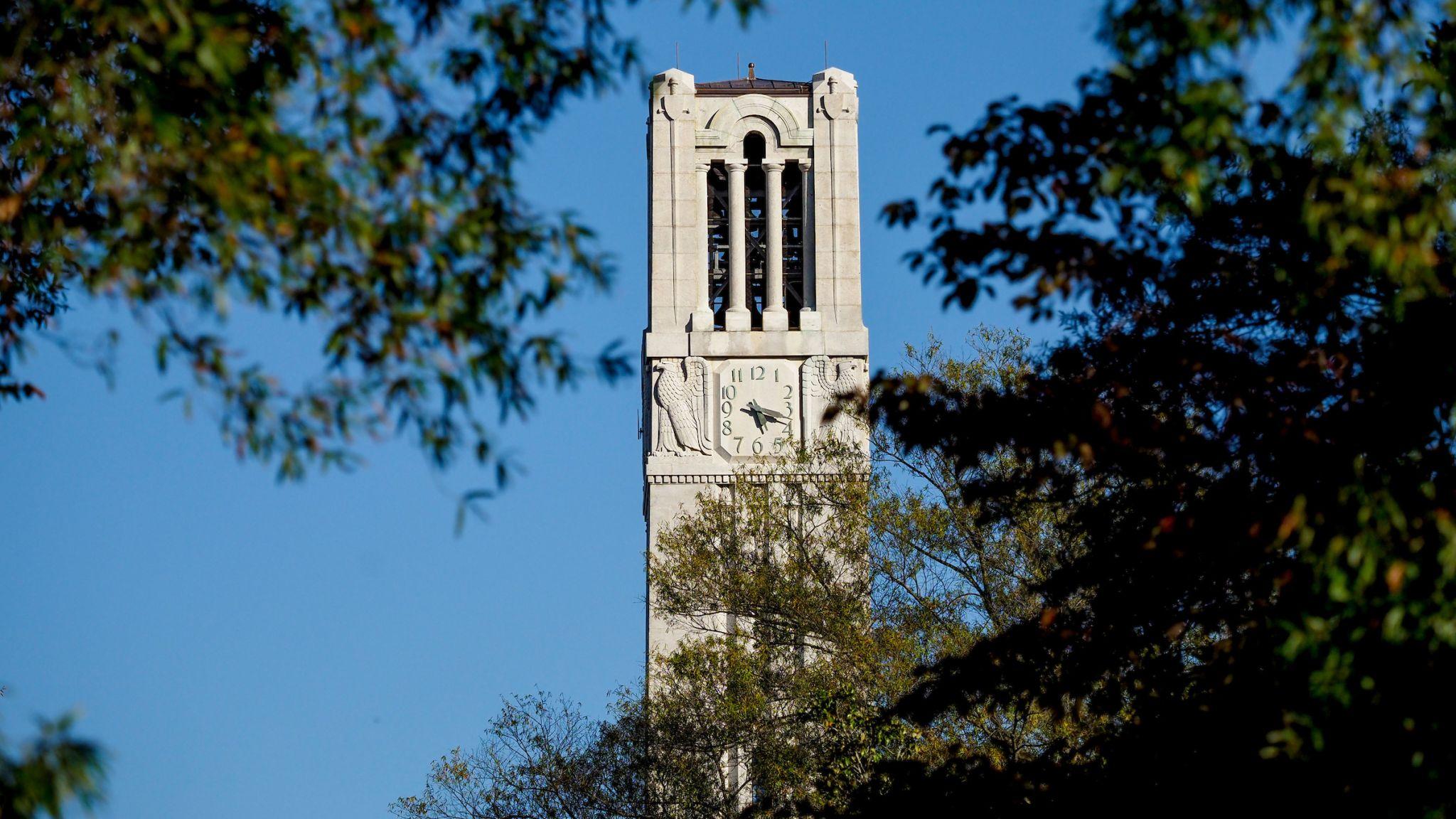 NC State's Memorial Belltower