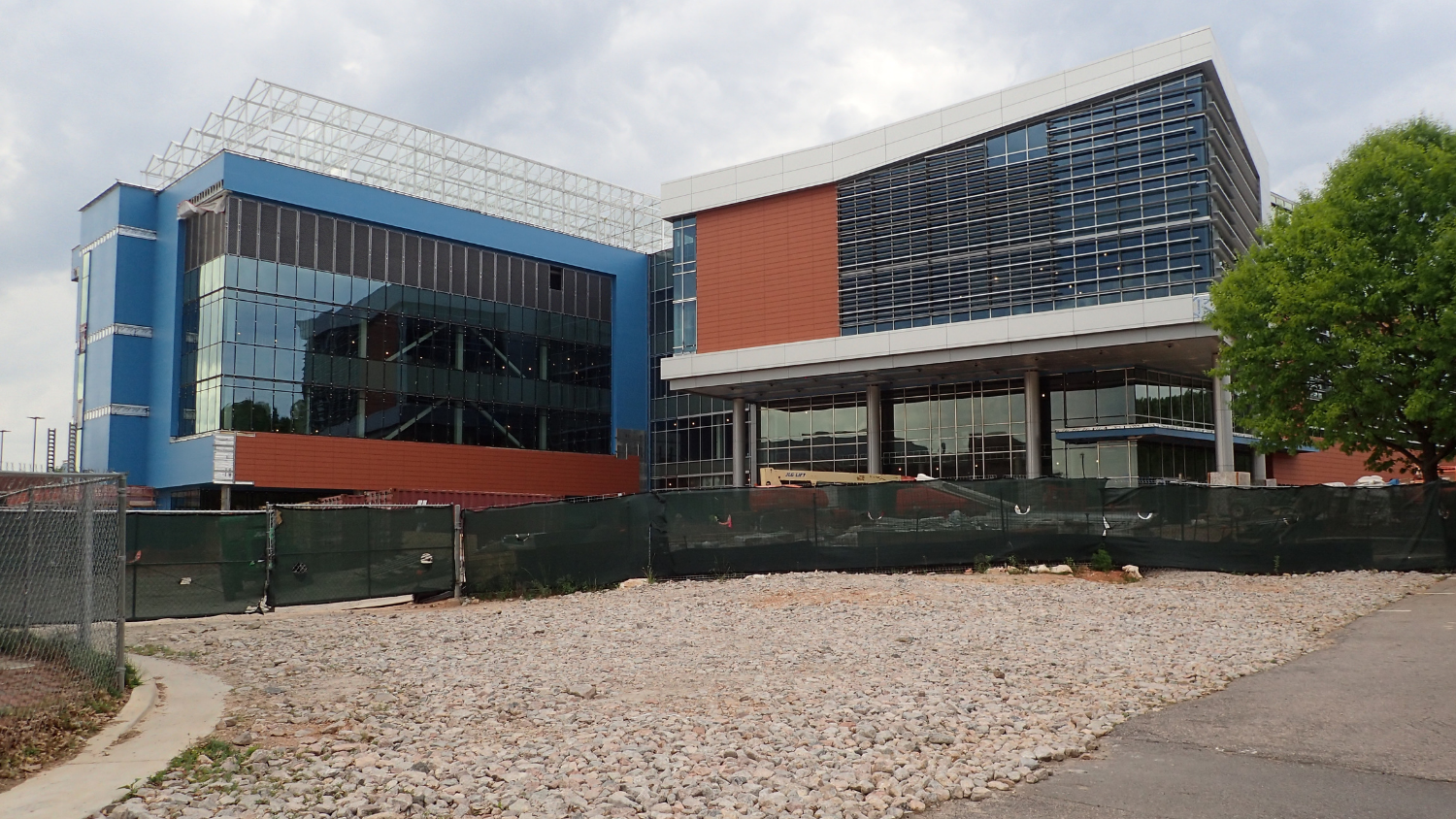 The new NC State Plant Sciences Building, scheduled for completion in early 2022.