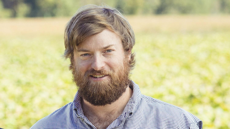 Head shot of Will Kornegay in a farm field