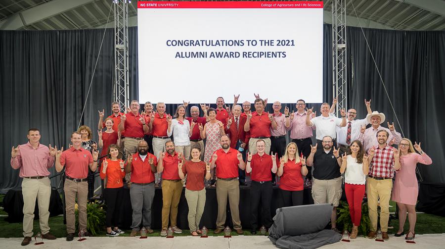 CALS alumni award recipients