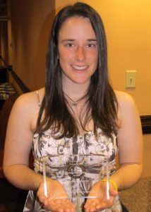 NCState VetPAC intern and zoology major Danielle Lindquist was named the APVMA national Outstanding Pre-Vet Student for the second year in a row.