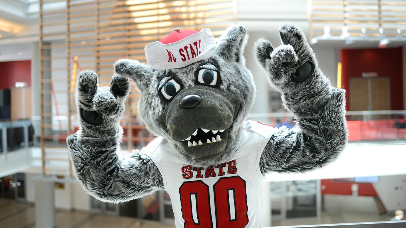 Mr. Wuf - NCState Mascot
