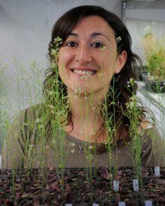 Ross Sozzani with plants